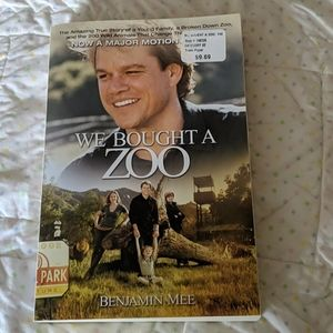 We bought a zoo, softcover book
